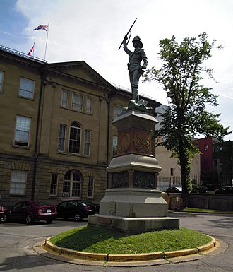 South African War Memorial (Halifax) - Boer War Monument, Province House