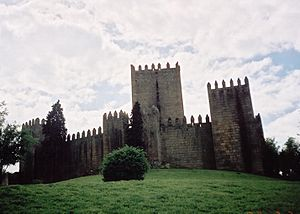 Gil Vicente - Guimarães, one of the places where it is claimed the dramatist was born