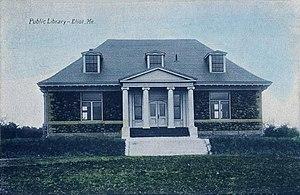 Eliot, Maine - William Fogg Library, c. 1919