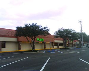 Publix - A converted Albertsons location in South Tampa, Florida