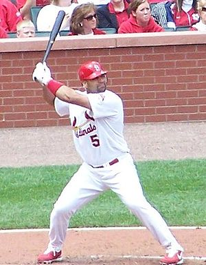 Albert Pujols - Pujols preparing to hit