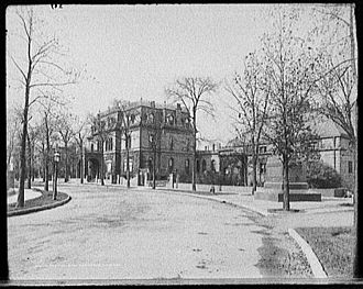 Near South Side, Chicago - Pullman residence: 1729 S. Prairie Ave. (c. 1900)
