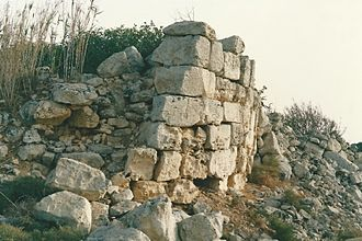 Punic-Roman towers in Malta - Remains of Ta' Ġawhar Tower in Safi