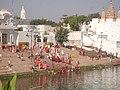 Pushkar.in Brahm Ghat - panoramio.jpg