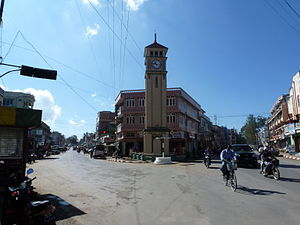 Pyin Oo Lwin - Downtown Pyin Oo Lwin