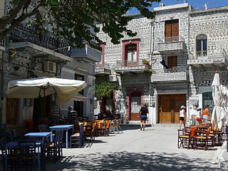 Mastichochoria Place in Greece