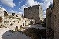 Qal'at Salah ed-Din aka Sahyun Castle at east side 4134.jpg