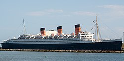 RMS Queen Mary v Long Beach, Kalifornie