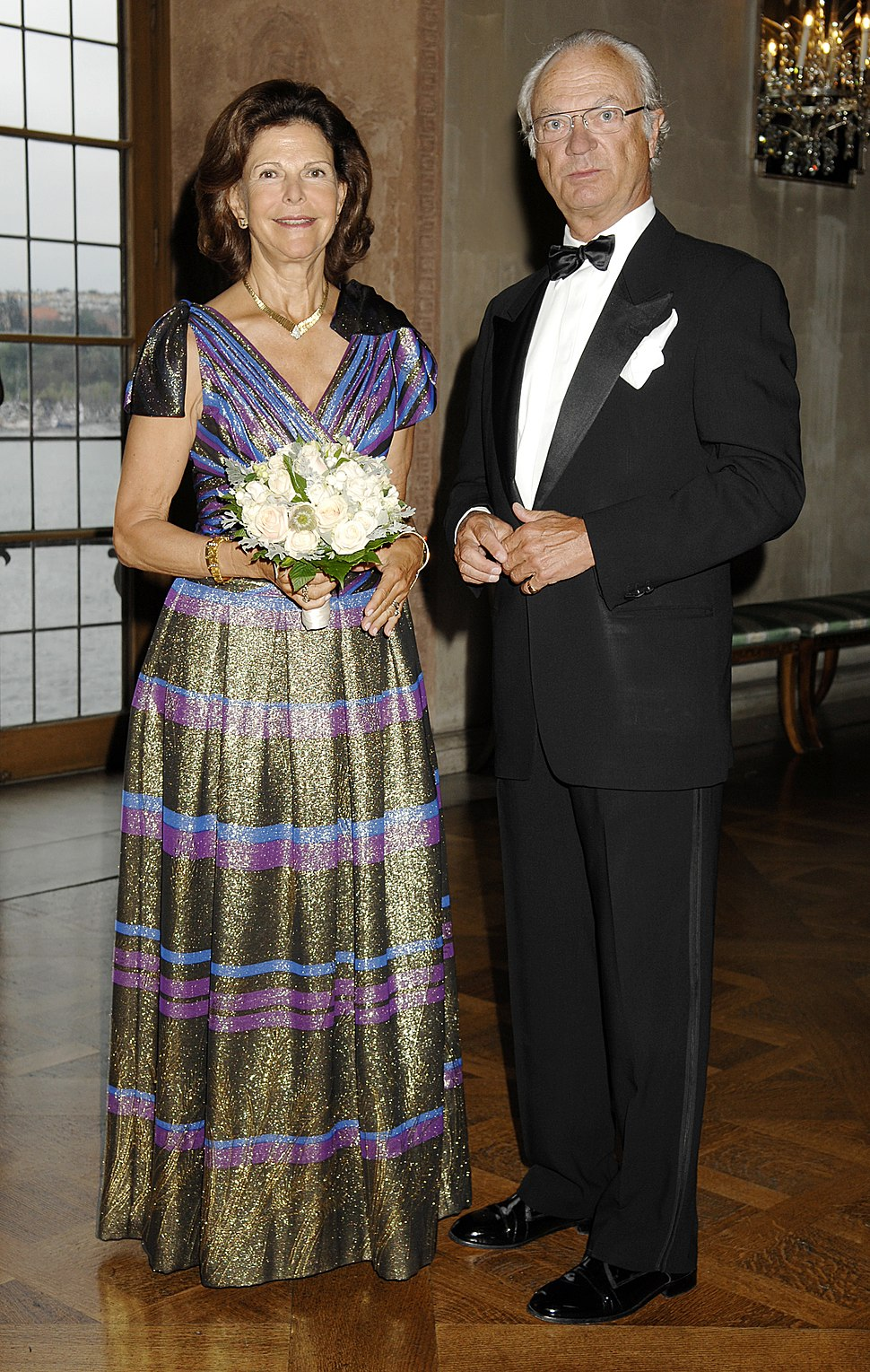 Queen and King of Sweden
