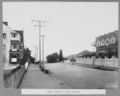 Queensland State Archives 3091 Bowen Terrace at bridge approach Brisbane 26 January 1934.png