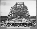 Queensland State Archives 4035 Erection of formwork for last panel of reinforced concrete roadway slab Brisbane 11 April 1940.png