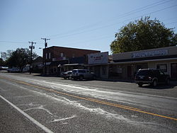 Downtown Quinlan, Texas
