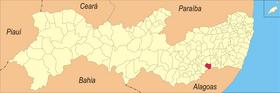 Localização de Quipapá