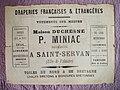 Réclame du négoce de Paul Miniac (successeur Anne-Marie Duchesne), établi jusqu'en 1899 place Bouvet à Saint-Servan-sur-Mer, Ille-et-Vilaine..jpg