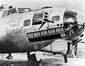 RAF Deenethorpe - 401st Bombardment Group B-17G Lady Jane.jpg