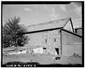 REAR VIEW OF BARN - Stone Barn, State Route 113, Doylestown, Bucks County, PA HABS PA,9-DOYLT.V,6A-3.tif