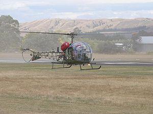 No. 3 Squadron RNZAF - A RNZAF Sioux in 2009