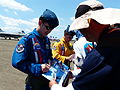 ROCAF Major Phantom Fan Signing on Booklet for Visitor 20130810.jpg