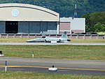 ROCAF RF-5E 5501 Taxiing at Hualien Air Froce Base 20170923la.jpg