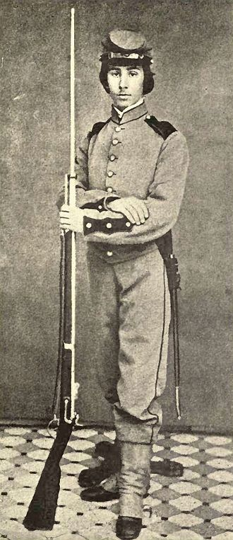Richard Watson Gilder - Gilder as a soldier in the American Civil War