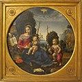 Raffaellino del garbo, madonna col bambino e s. giovannino, 1500 ca., Q43.JPG