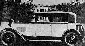 K. Rudzki i S-ka - Ralf-Stetysz car