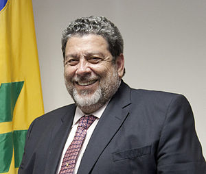 Ralph Gonsalves - Dr. Ralph Gonsalves in 2013