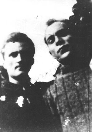 Kosovo Albanians - Image: Ramiz Sadiku and Boro Vukmirović