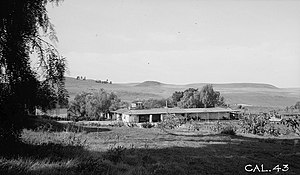 Vista, California - Rancho Guajome, Vista circa 1936