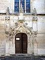 Raray (60), église Saint-Nicolas, portail occidental.JPG