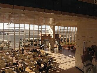 Sharm El Sheikh International Airport - Departure hall at Sharm El Sheikh International Airport