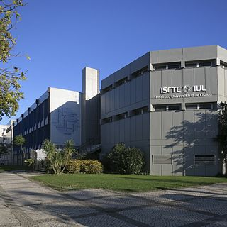 ISCTE – University Institute of Lisbon Public university in Lisbon, Portugal