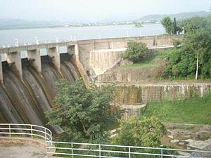 Rawal dam in Islamabad