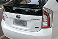 Rear view of Toyota Prius Brazil 12 2013 MFG 04.jpg