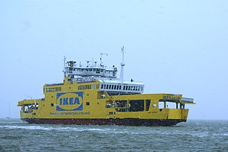 Isle of Wight ferry services - MV Red Osprey in 2009