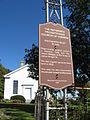 Reformed Presbyterian Church of Vernon (WI) -Waukesha County Historical Society Marker.JPG