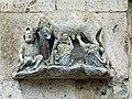 Regensburg cathedral, south facade, Judensau motif.jpg