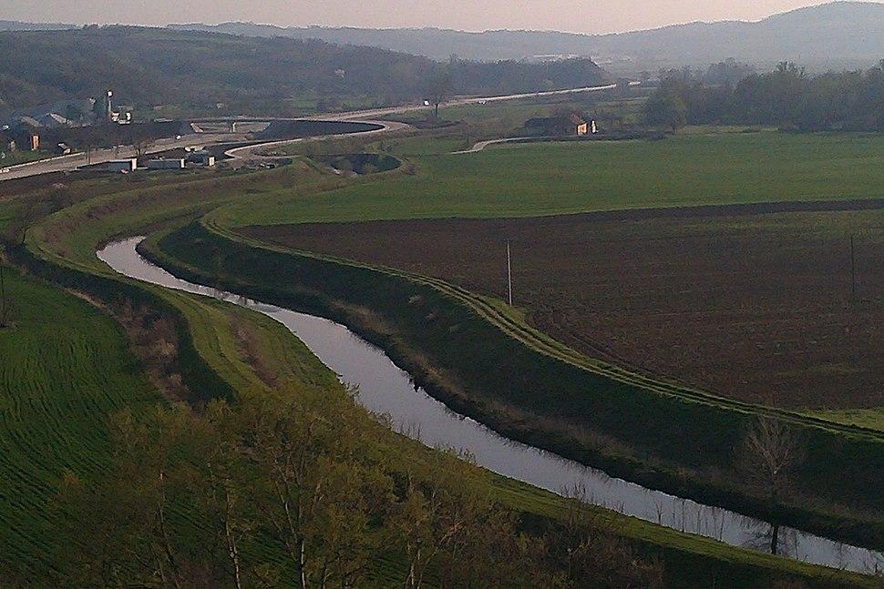 Reka Lepenica kod Gradca