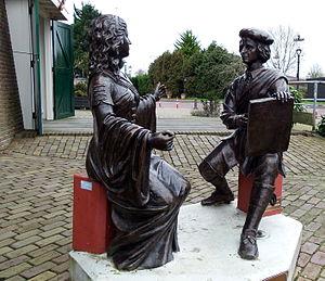 Sloten, Amsterdam - Image: Rembrandt en Saskia in Sloten