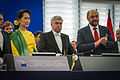 Remise du Prix Sakharov à Aung San Suu Kyi Strasbourg 22 octobre 2013-05.jpg