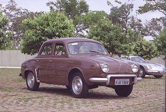 Renault Dauphine - Brazilian made Renault Teimoso 1966