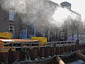 Renovation-works at the former tram-depot in Amsterdam-West, district Kinkerbuurt - renovatie van de oude tram-remise in Amsterdam Oud-West.jpg