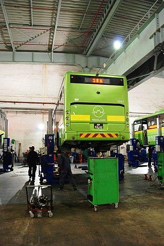 Reolian - Reolian bus maintenance center in Macau, China