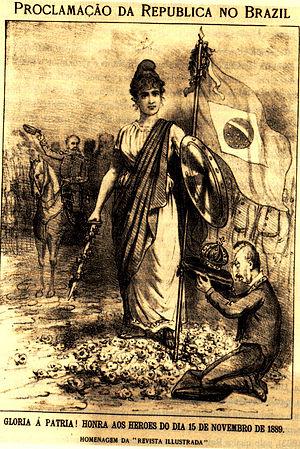 Proclamation of the Republic (Brazil) - Homage of the Illustrated Magazine to the proclamation of the Brazilian Republic