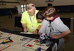 Reservist encourages learning through robotics 141108-F-IL418-001.jpg