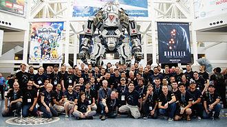 Titanfall - Respawn Titanfall team at E3 2013