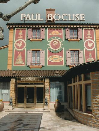 Paul Bocuse - L'Auberge du Pont de Collonges, the main Restaurant in Lyon