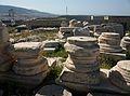Restes arquitectòniques a l'Acròpoli d'Atenes.JPG