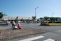 Retour gare de Lourdes.JPG