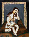 Reverse painting on glass Man of sorrows Spain.jpg